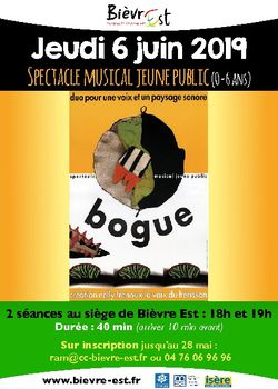 Spectacle musical Jeune Public
