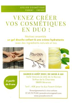 ATELIER COSMETIQUE PARENT - ENFANT