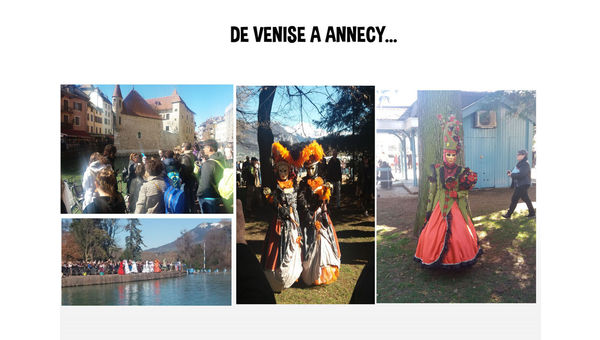 Sortie famille Carnaval d'Annecy