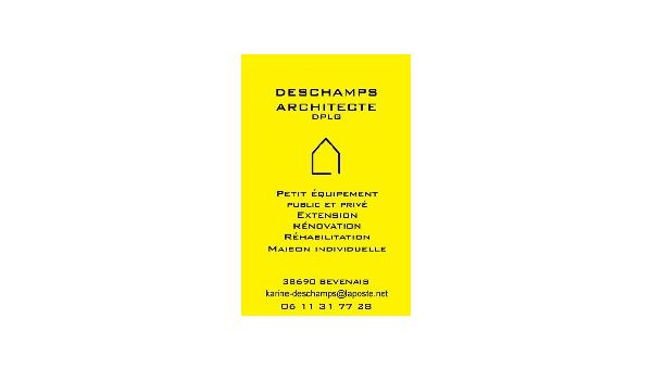 DESCHAMPS ARCHITECTE DPLG Bévenais